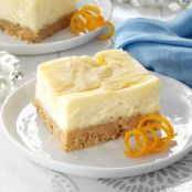 Orange Swirled Cheesecake Dessert