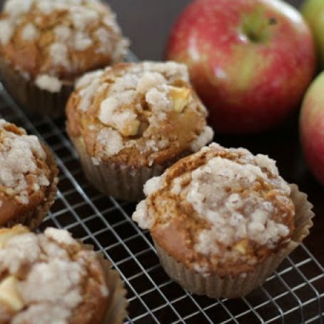 Chunky Apple Pumpkin Muffins {Gluten & Top 8 Free}
