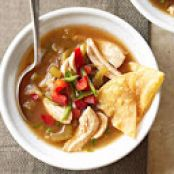 Tomatillo Chicken Soup