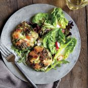 Smoky Potato Cakes with Kale and Creamy Ricotta