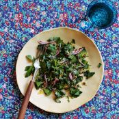 Parsley Salad With Capers & Red Onions