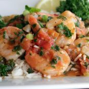 Spicy Shrimp Scampi with Muir Glen Organic Tomatoes