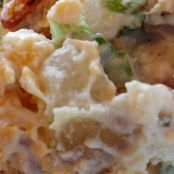 Kristen's Bacon Ranch Potato Salad