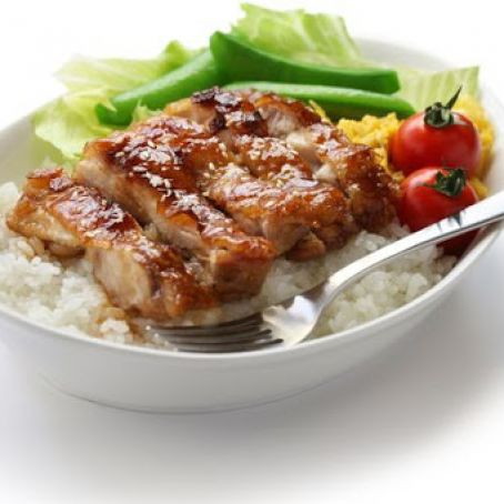Teriyaki Chicken Slow Cooker