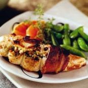 Chicken Breasts Stuffed with Dried Fruit and Goat Cheese