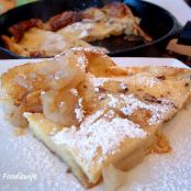 Apple Puff Up Pancake -  Dutch Baby