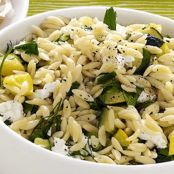 Squash and Orzo Salad