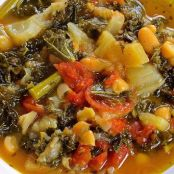 Tuscan White Bean Soup with Kale