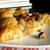 Pear and Blue Cheese Crostata