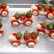 Strawberry and Banana Cars