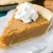 Peanut Butter Chess Pie