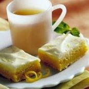 Cheesecake Bars, Lemon