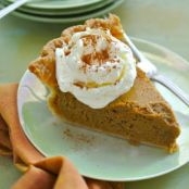 Pumpkin Molasses Pie