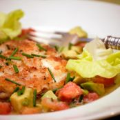 Jacques Pepin's Crab Cakes with Avocado Salsa
