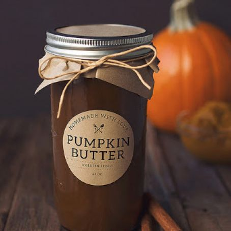 Pumpkin Butter (Crock Pot)