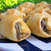 Bacon Cheeseburger Crescents