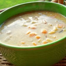 Easy Creamy Chicken with Wild Rice Soup