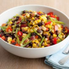 BLACK BEAN AND CORN SALAD   {guy fieri}