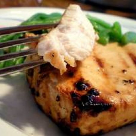 Baked Swordfish Steak with Rosemary