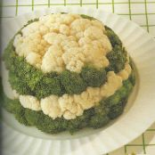 Broccoli and Cauliflower Mold
