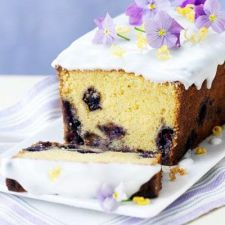 1 blueberry and lemon curd cake