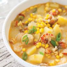 Crawfish and Corn Chowder