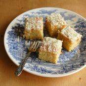 CAKE - Moist Coconut Cake