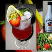 Malibu Strawberry Mojito