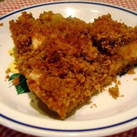 Graham Cracker Crumb Apple Pie Recipe 3 3 5