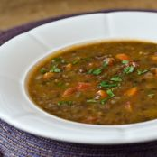 French Lentil Soup with Bacon