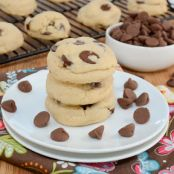 Cornstarch Chocolate Chip Cookies