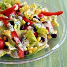 Santa Fe Salad with Chili-Lime Dressing