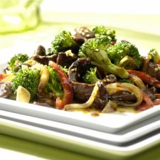 Sesame Beef with Broccoli in an Air Fryer
