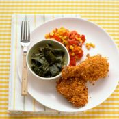 Tasty Cornflake-Crusted Baked Chicken