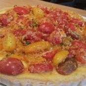 Daniel Boulud's Corn and Heirloom Tomato Tart