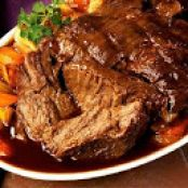 Apple Cranberry Pot Roast