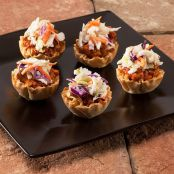 Mini Sloppy Joe Phyllo Cups