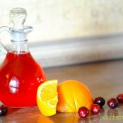 Cranberry-Orange Simple Syrup
