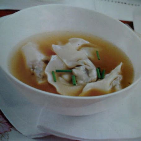 Lemongrass Chicken Broth And Mushroom Wontons Recipe 4 4 5