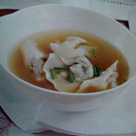 Lemongrass Chicken Broth And Mushroom Wontons Recipe 4 4 5