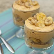 Peanut Butter and Banana Parfaits