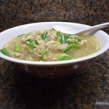 Chinese Style-Chicken Long Rice Soup