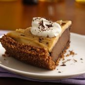 Gluten Free Double Chocolate Peanut Butter Pudding Pie
