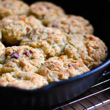 Bacon Cheddar Cheese Biscuits