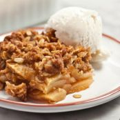 Easy Apple Crisp with Oatmeal Streusel Recipe