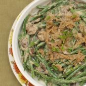 Green Bean Casserole - Healthy Version