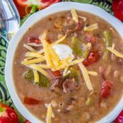 Cowboy Pinto Bean Soup (Slow Cooker)