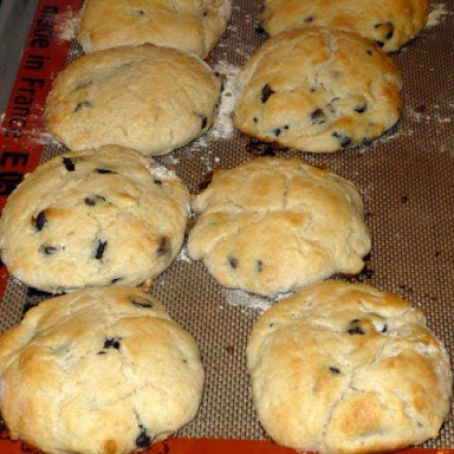 Scones, reduced fat