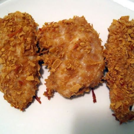 Crunchy Parmesan Chicken Strips/Nuggets