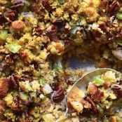 Pecan Bacon Cornbread Dressing